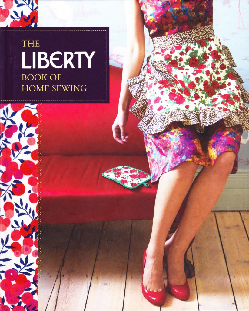 The Liberty Book Home Sewing Book Cover