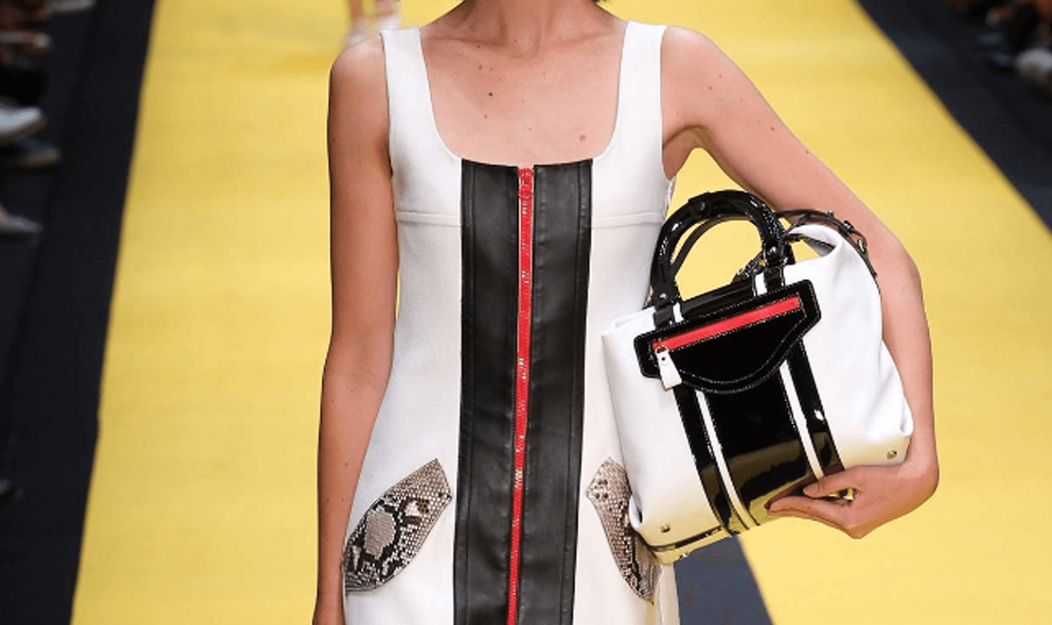 Runway Inspirations: Carven – Racing Stripe