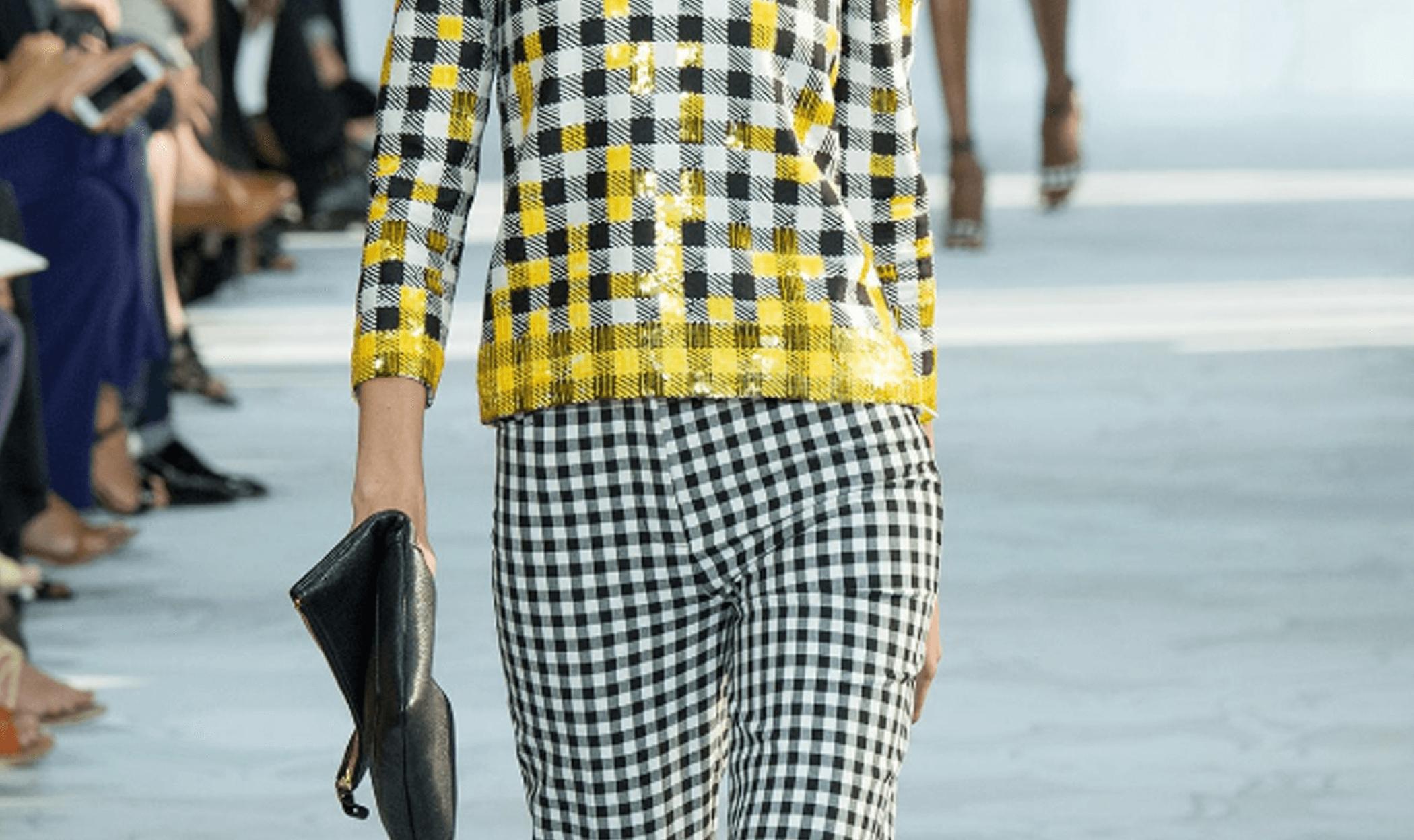 Runway Inspired Details – Diane von Furstenberg – Checks Mixing Scales