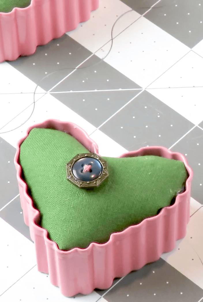 Cookie Cutter Pincushion DIY