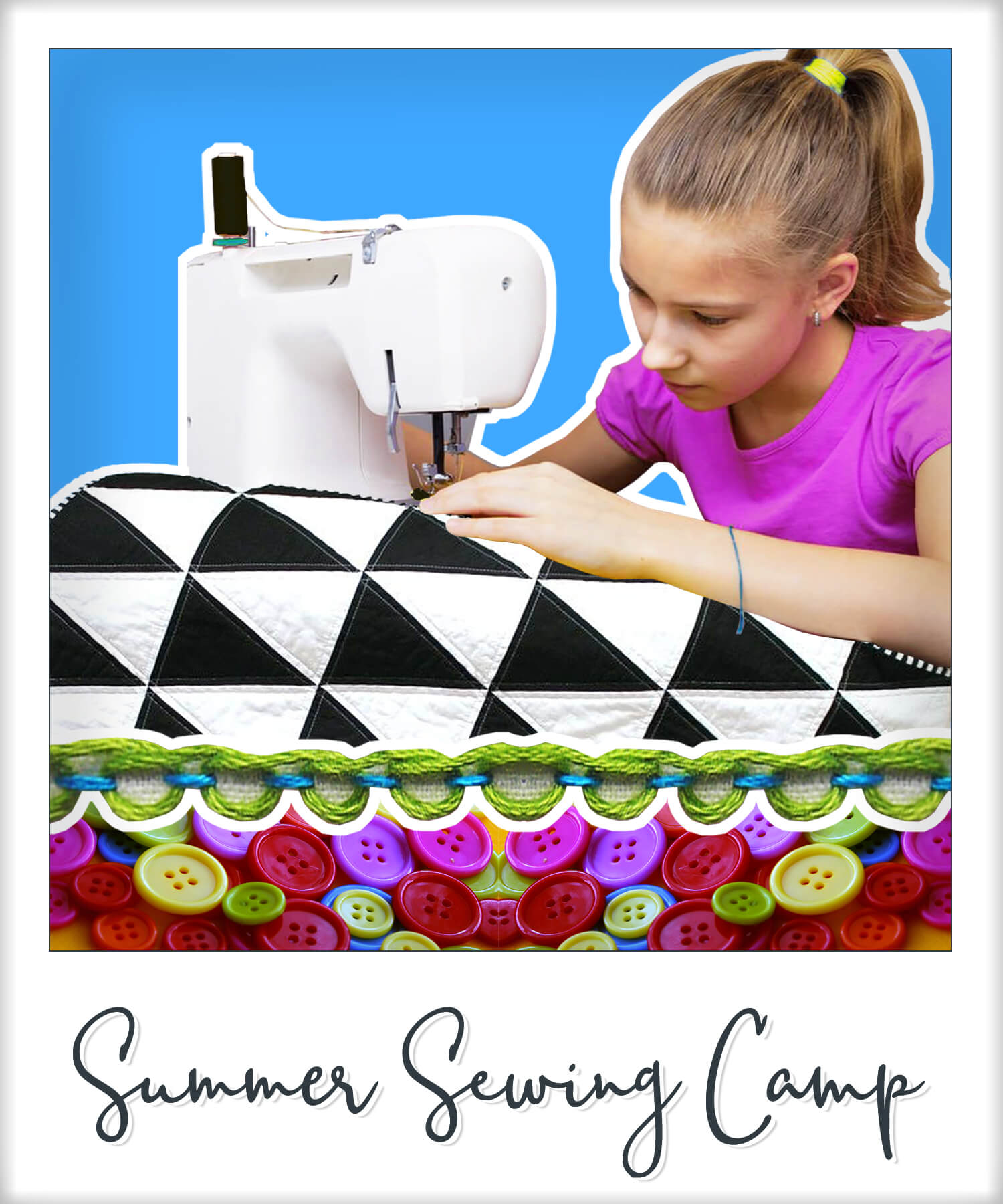 Sewing Class Image - Summer Sewing Camp