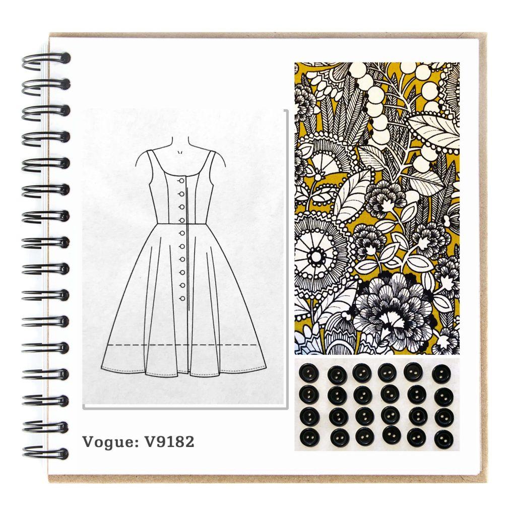 Image Vogue Sewing Pattern V9182