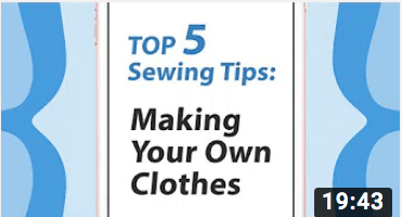 image how to sew clothes for beginners