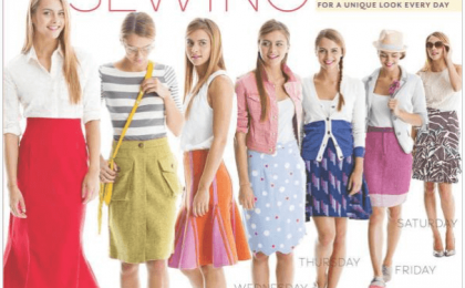 image sewing books for beginners-skirt a day sewing