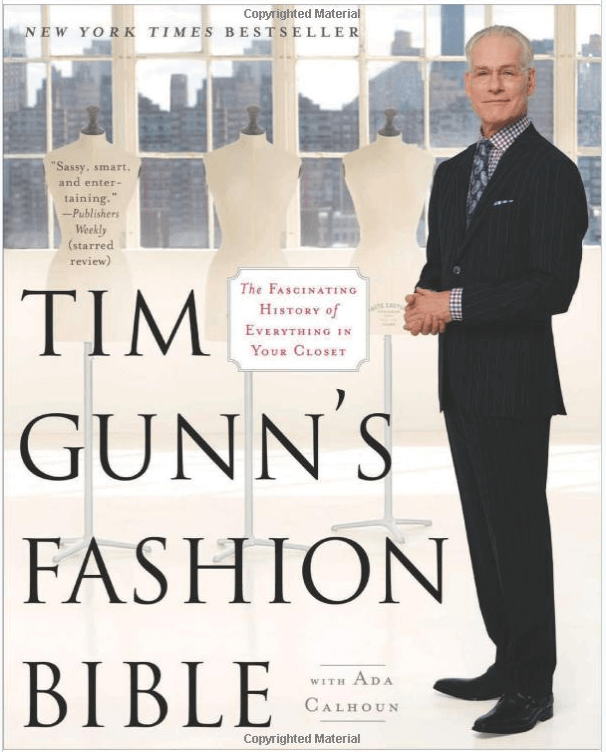 Tim Gunn's Fashion Bible – helpful guide for sewing