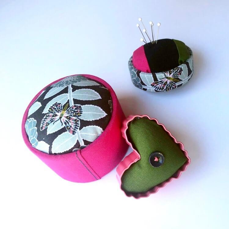 How to Make Pincushions From a Stash of Fabric Scraps